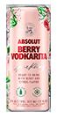 Absolut Berrt Vodkarita 4pk